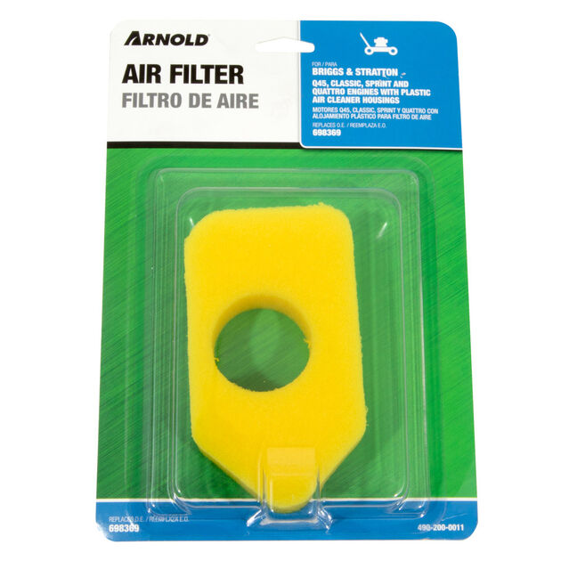 Replacement Air Filter - Briggs & Stratton 698369