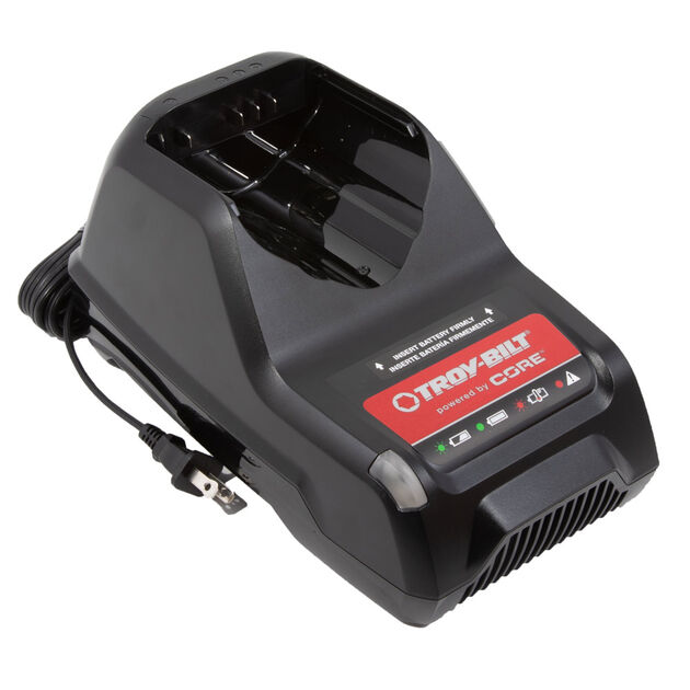 Troy-Bilt® powered by CORE 40V Max Rapid Charger