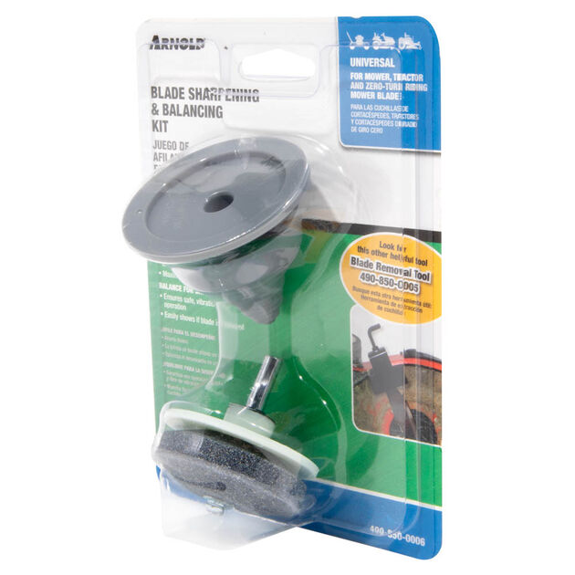Lawn Mower Blade Sharpener and Balancer Kit