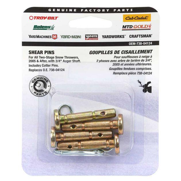 Shear Pin Kit   25 X 1 5 U0026quot