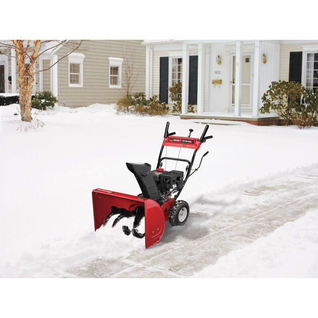 "Yard Machines 24"" Two-Stage Snow Blower"