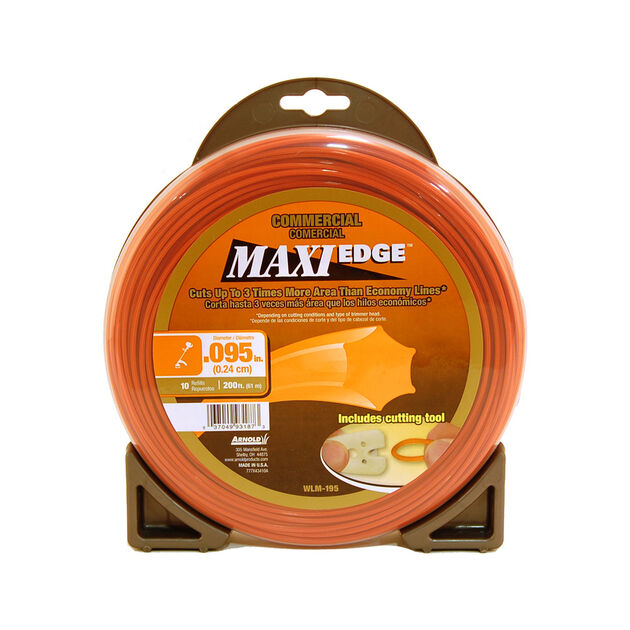 """.095"""" Maxi Edge Commercial Trimmer Line"""