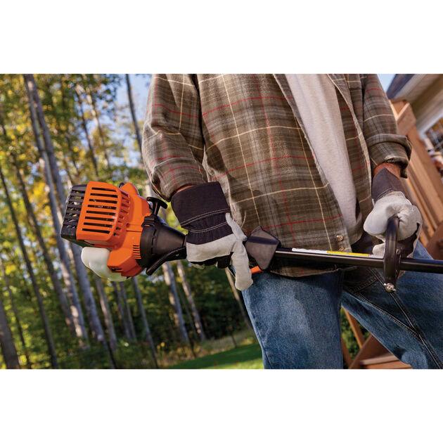 Remington RM2510 Rustler Curved Shaft String Trimmer