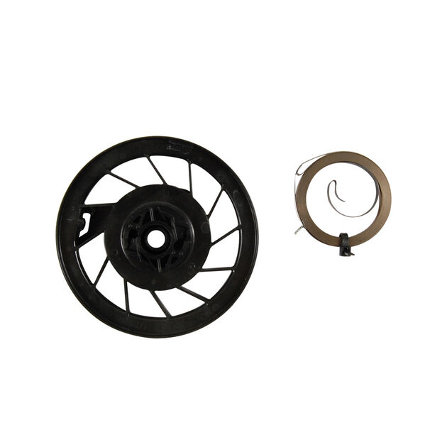 Starter Recoil Pulley and Spring