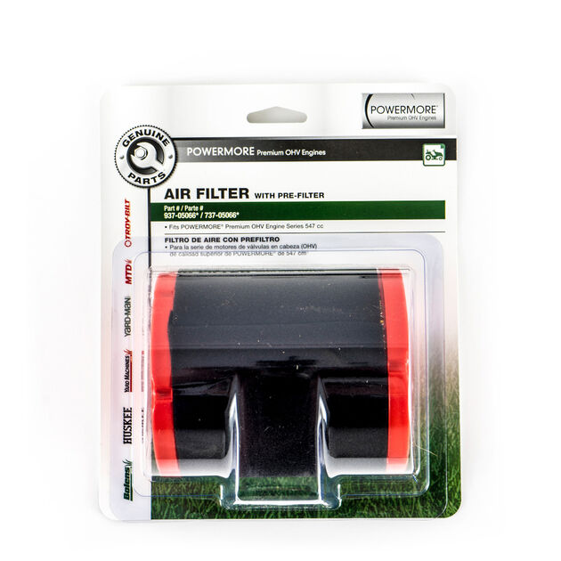 Air Filter with Precleaner