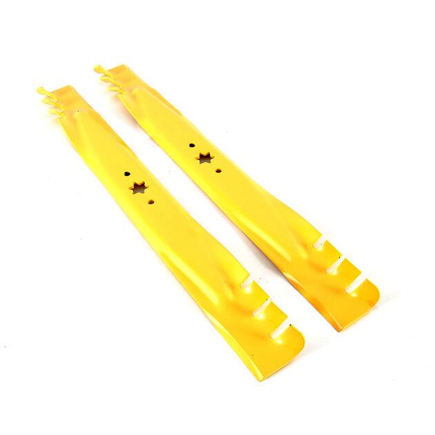 Mower Deck Mulch Blades Fits Cub Cadet XT1 LT46 XT2 LX46 46/'/' Deck 2 sets