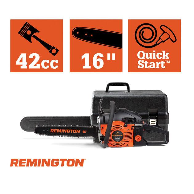 """Remington RM4216 16"""" Rebel Gas Chainsaw"""
