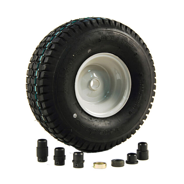 Lawn Tractor Front Wheel Assembly - 15 x 6 - 6