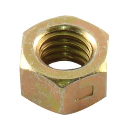 Hex Center Lock Nut, 3/8-16