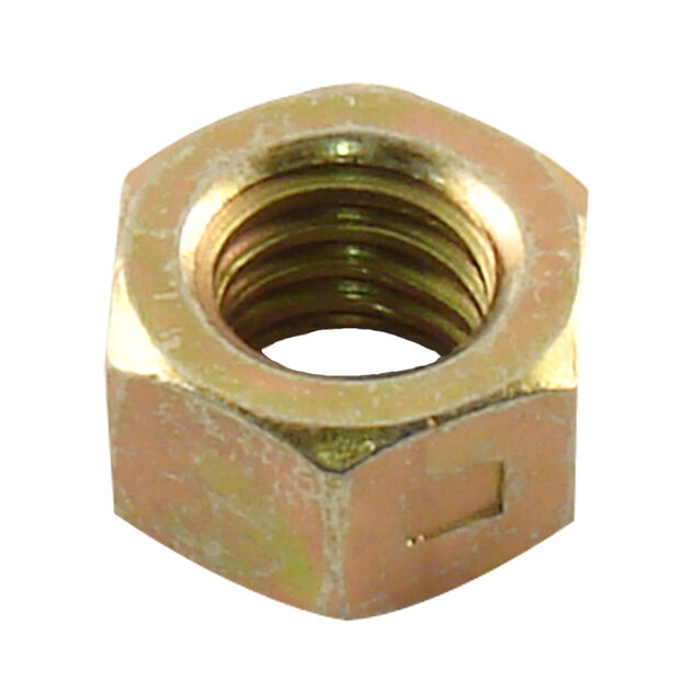 Hex Center Lock Nut, 3/8-16