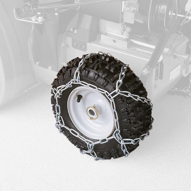 Snow Blower Tire Chains - 16 x 4.8-Inch