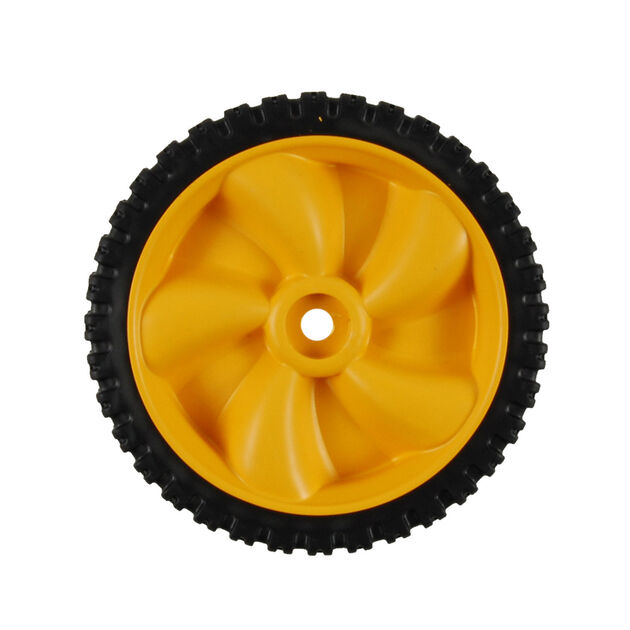 Wheel Assembly, 8 x 1.8 - Yellow