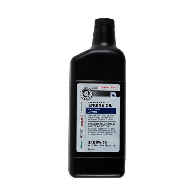 5W-30 Engine Oil - 20 oz