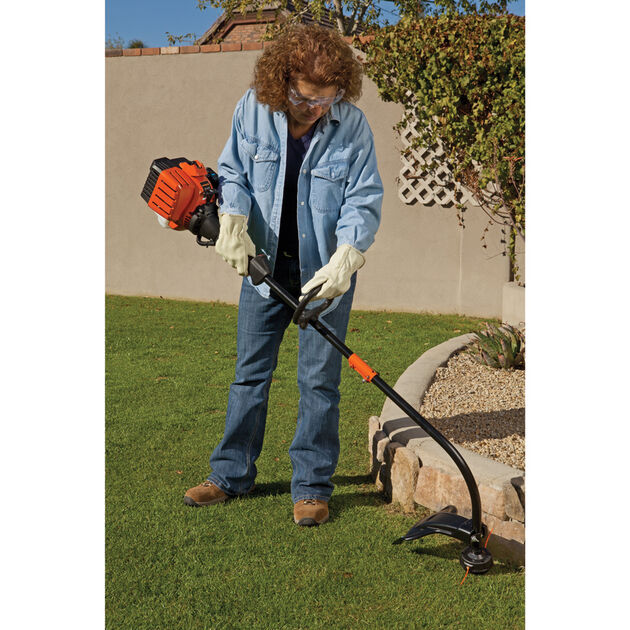 Remington RM2510 Rustler Curved Shaft String Trimmer