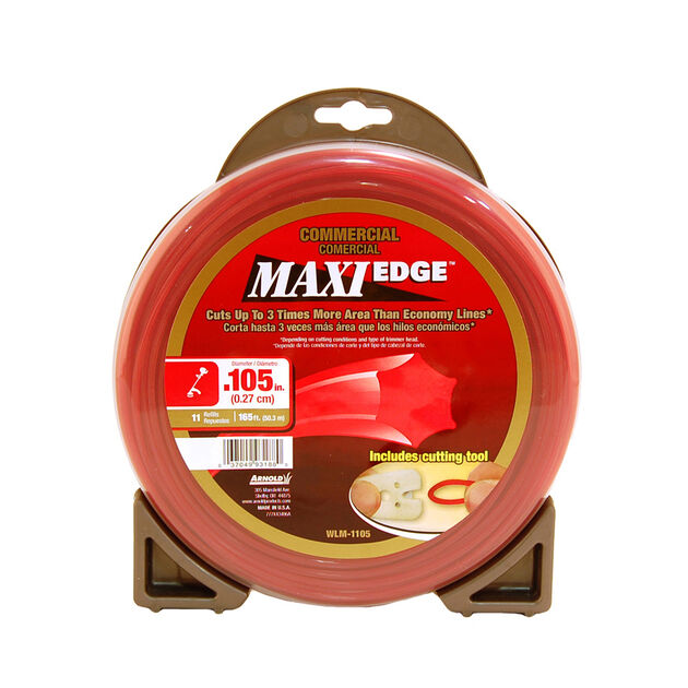 """.105"""" Maxi Edge Commercial Trimmer Line"""