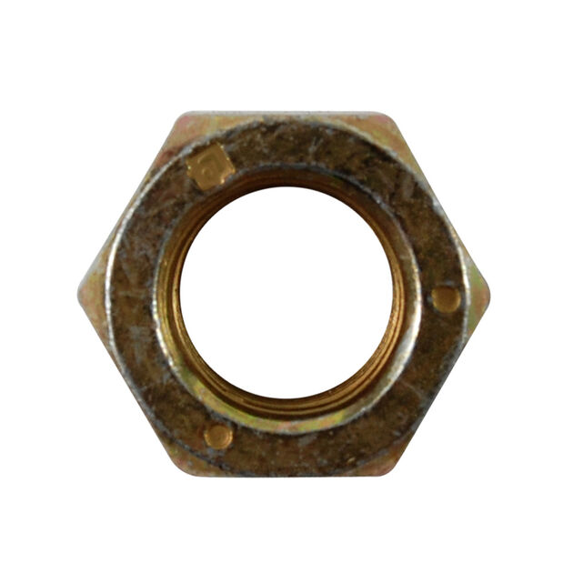 Hex Lock Nut, 3/8-24